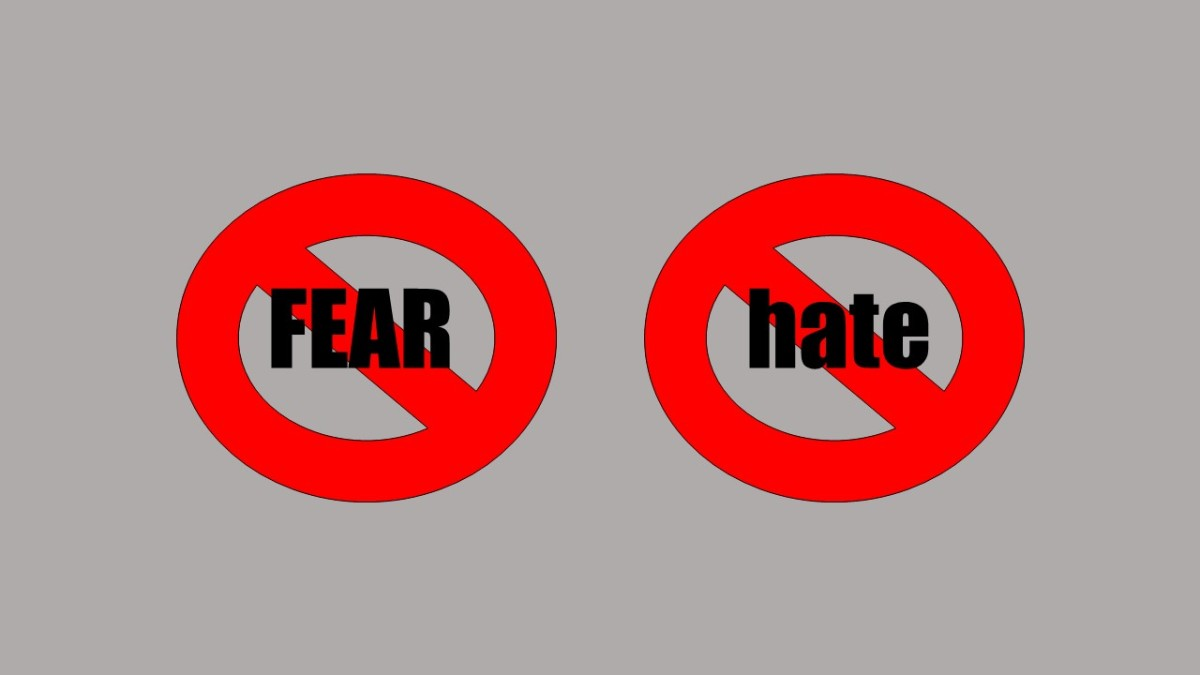 A Simple Choice: Rejecting Fear & Hate